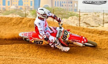 Motocross Honda Chris Moeckli in Dubai UAE