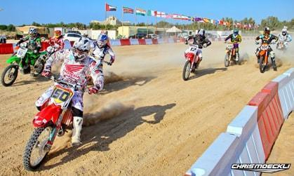 Motocross Honda Chris in Dubai UAE