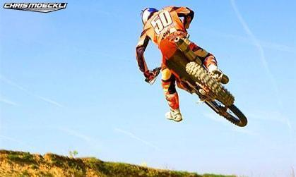 Motocross KTM Chris Moeckli Jump