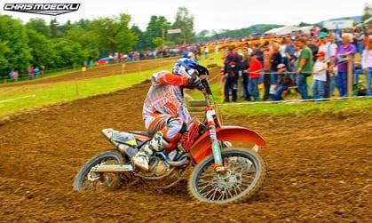 Motocross KTM Chris Moeckli in Muri AG